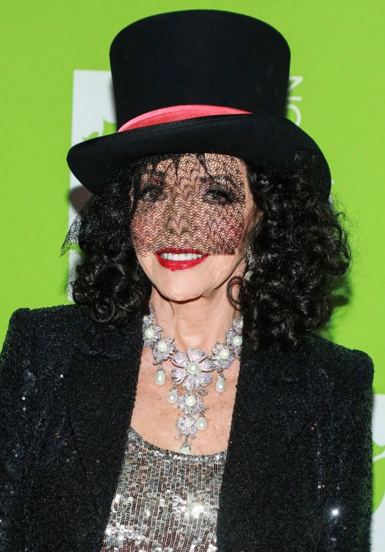 Joan Collins – Bette Midler's Annual Hulaween Benefit 2019