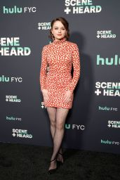 Joey King - Hulu Scene and Heard SAG Event in Los Angeles 11/13/2019