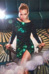 Josephine Skriver - All That Glitters Holiday Boohoo Campaign 2019
