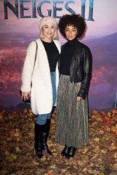 """Joy Esther - """"Frozen 2"""" Premiere in Paris"""