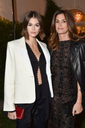 Kaia Gerber and Cindy Crawford - A Sense of Home Gala in Los Angeles 11/01/2019