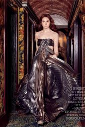 Karen Gillan - Country & Town House Magazine December 2019 Issue
