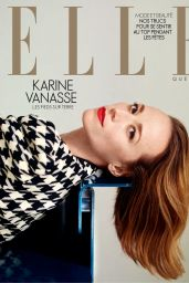 Karine Vanasse - ELLE Québec France December 2019 Issue