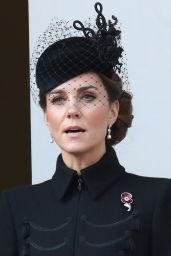 Kate Middleton - Remembrance Sunday Memorial in London 11/10/2019