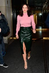 Katharine McPhee - Outside The Today Show in NYC 11/19/2019