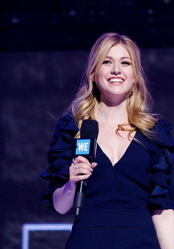 "Katherine McNamara - Speaks on Stage During ""WE Day Vancouver"" 11/19/2019"
