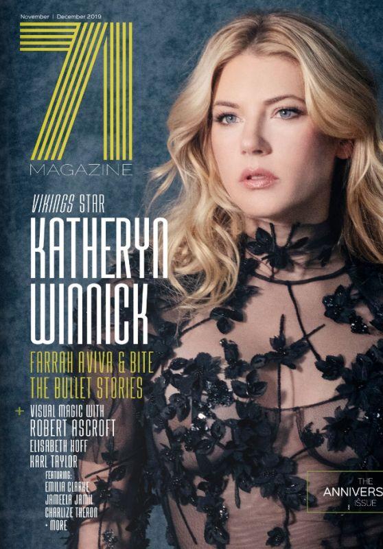 Katheryn Winnick - 71 Magazine Cover Nov/Dec 2019