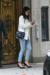 Katie Holmes - Leaves Her Apartment in NYC 11/07/2019