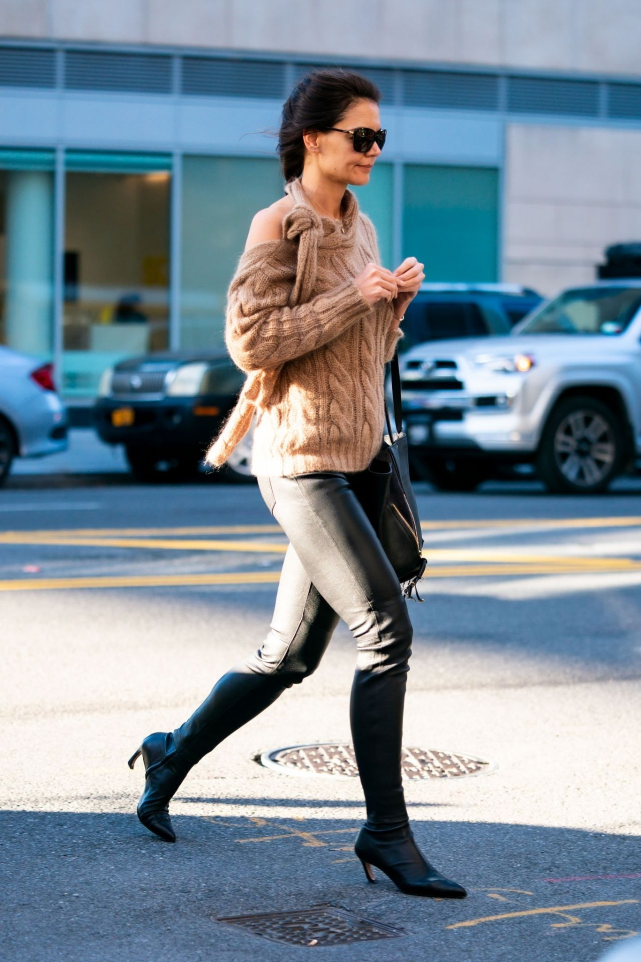 Katie Holmes Out In New York 10 24 2019