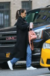 Katie Holmes - Shopping at Scent Elate in NY 11/25/2019