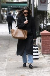 Katie Holmes - Shopping in NYC 11/22/2019