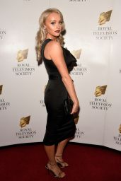 Katie McGlynn - RTS Awards in Manchester 11/23/2019