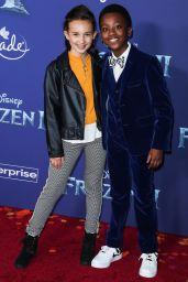 """Kaylin Hayman – """"Frozen 2"""" Premiere in Hollywood"""