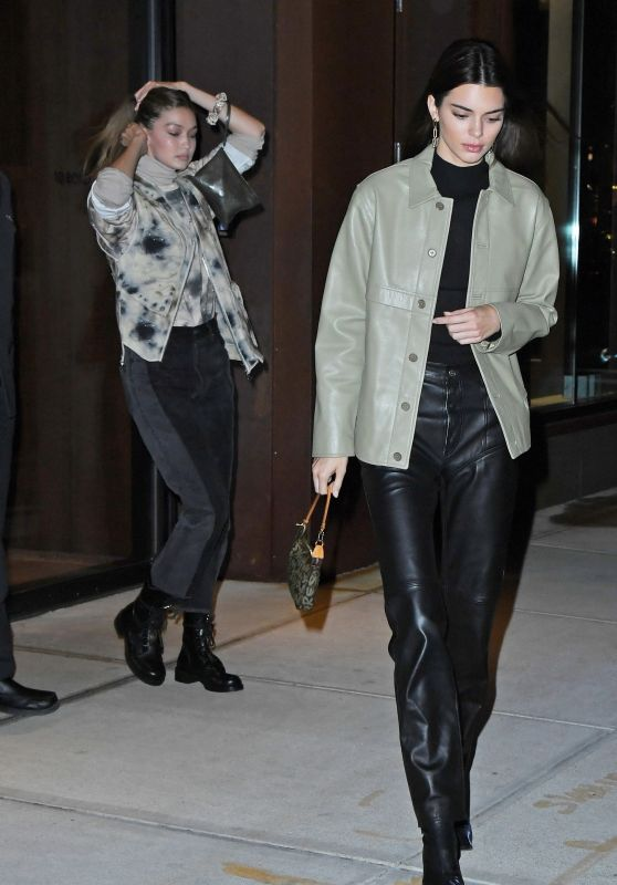 Kendall Jenner and Gigi Hadid - Night Out in New York 11/19/2019