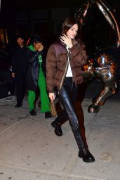 Kendall Jenner Night Out - Cipriani in NYC 11/16/2019