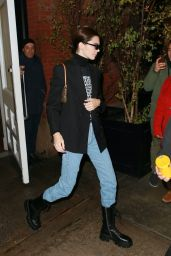 Kendall Jenner Street Style - Leaves Her Hotel in NYC 11/17/2019