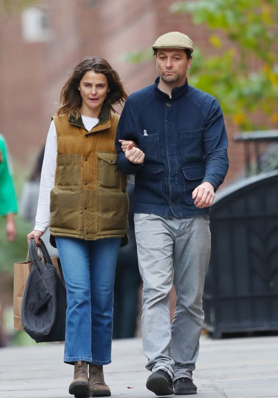 Keri Russell - Out in Brooklyn 11/07/2019