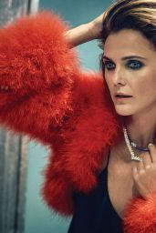 Keri Russell - Town & Country Magazine December 2019 / January 2020 Cover and Photos