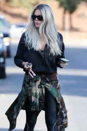 Khloe Kardashian Street Style 11/26/2019