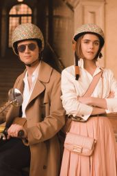 Kiernan Shipka and Christian Coppola - L