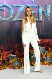 """Kimberley Garner - """"Frozen 2"""" European Premiere in London"""