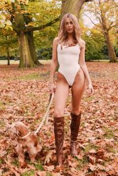 Kimberley Garner - Photoshoot in Hyde Park in London 11/21/2019
