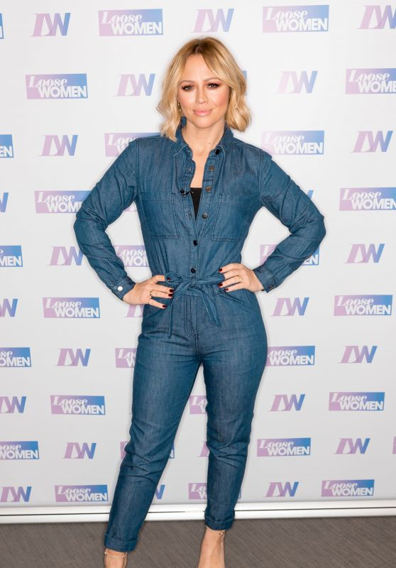 "Kimberley Walsh - ""Loose Women"" TV Show in London 11/25/2019"