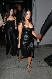 Kourtney Kardashian Night Out Style 11/02/2019