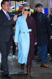 Kristen Bell - Outside Good Morning America in NYC 11/12/2019