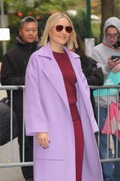 "Kristen Bell - Promoting ""Frozen 2"" in NYC 11/12/2019"