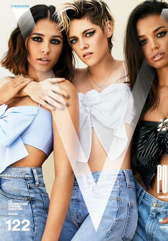 Kristen Stewart, Naomi Scott and Ella Balinska - V Magazine Winter 2019 Photos