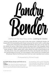Landry Bender - Glitter Magazine Winter Issue 2019