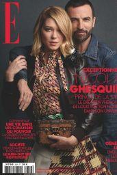 Léa Seydoux - ELLE Magazine France 10/31/2019