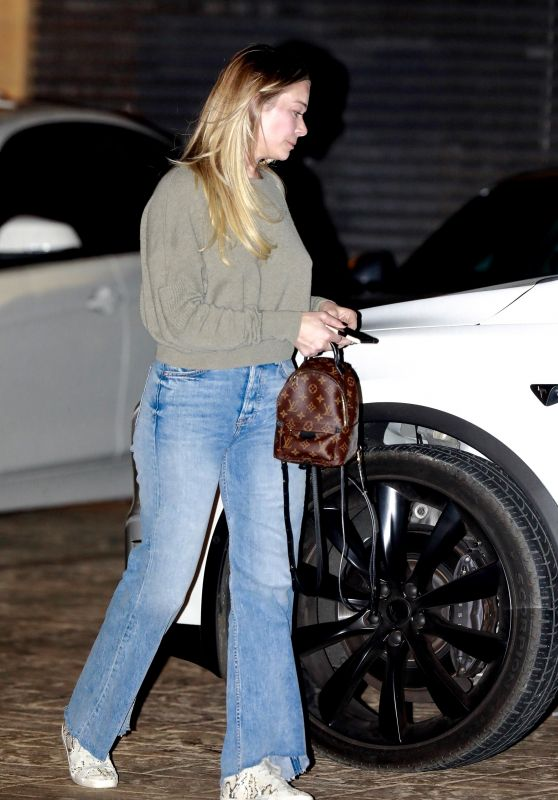 LeAnn Rimes - Leaving Nobu in Malibu 11/01/2019