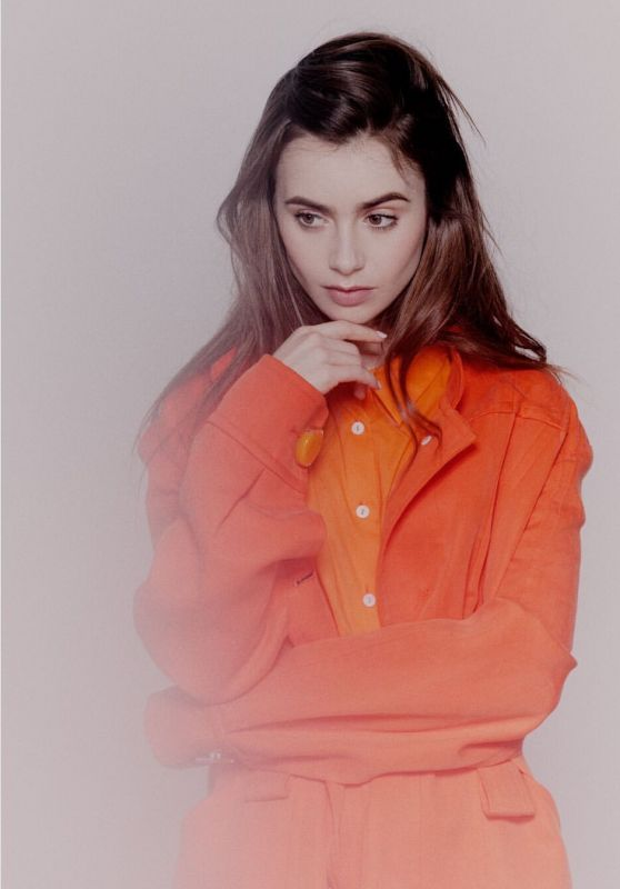 Lily Collins - Photoshoot in New York November 2019