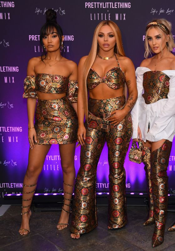 Little Mix - Pretty Little Thing x Little Mix Launch Party in London