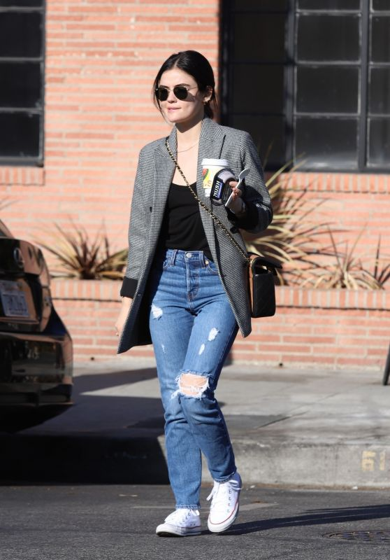 Lucy Hale Street Style 11/11/2019