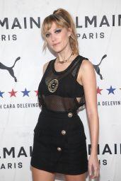 Maika Monroe – PUMA x Balmain Launch Event in LA