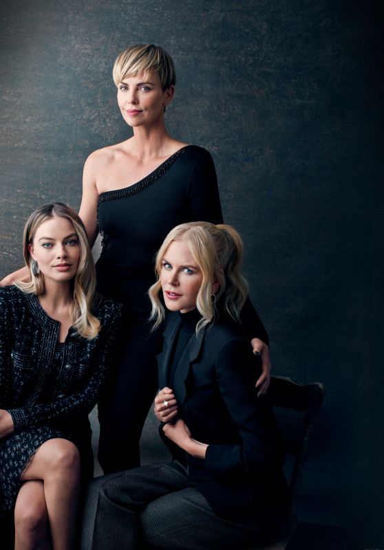Margot Robbie, Nicole Kidman and Charlize Theron - Deadline 2019