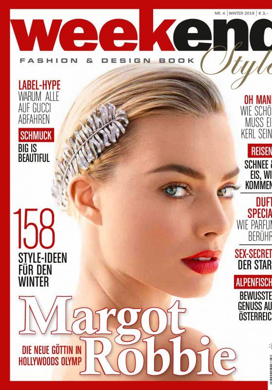 Margot Robbie - Weekend Style Magazine Winter 2019 Issue