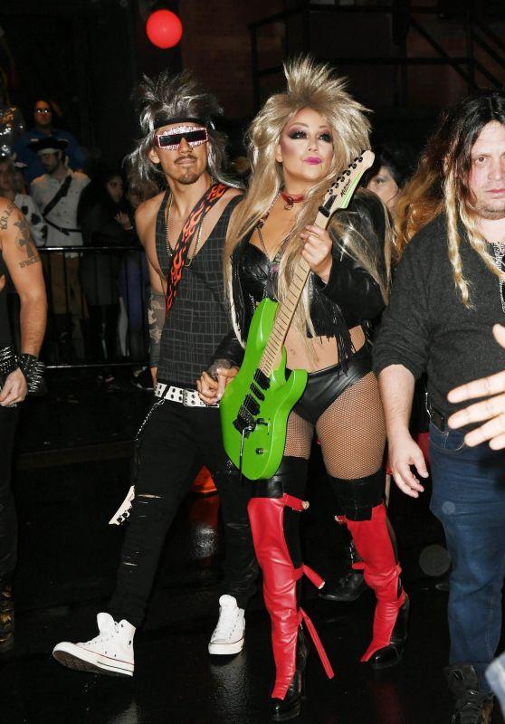 Mariah Carey – Heidi Klum's 20th Annual Halloween Party in NY