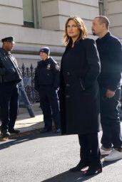 "Mariska Hargitay - ""Law and Order: Special Victims Unit"" Set in New York City 11/07/2019"