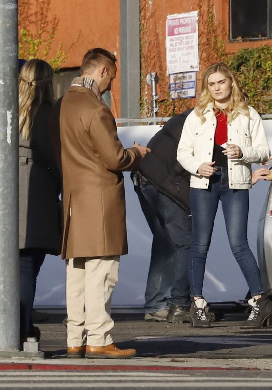 "Meg Donnelly - ""First Housewife"" Set in LA 11/25/2019"