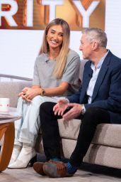 """Megan McKenna - """"Lorraine"""" TV Show in London 11/25/2019"""