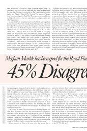 Meghan Markle - Tatler Magazine UK December 2019 Issue