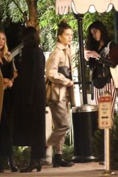 Melanie Griffith, Dakota Johnson and Stella Banderas - Out for Dinner in West Hollywood 11/26/2019