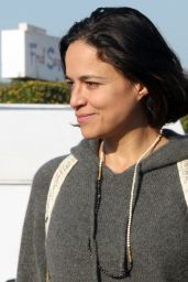 Michelle Rodriguez - Out in West Hollywood 11/25/2019