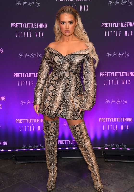 Molly Mae Hague – Pretty Little Thing x Little Mix Launch Party in London