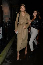 Montana Brown - Arriving at Bagatelle in London 11/27/2019
