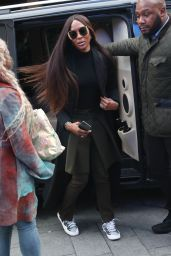 Naomi Campbell - Arrives at Global Offices in London 11/28/2019